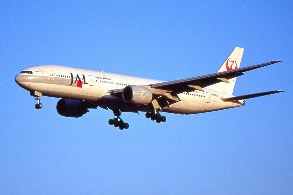apphgさんの日本航空 Boeing 777-200 (JA8983) 航空フォト