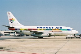 ゴンタさんが、ドンムアン空港で撮影したプーケット航空 737-281の航空フォト(飛行機 写真・画像)