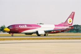 ゴンタさんが、ドンムアン空港で撮影したノックエア 737-4D7の航空フォト(飛行機 写真・画像)