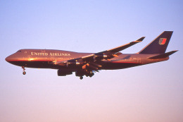 apphgさんが、成田国際空港で撮影したユナイテッド航空 747-422の航空フォト(飛行機 写真・画像)