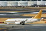 パンダさんが、成田国際空港で撮影した南山公務 737-7ZH BBJの航空フォト(写真)