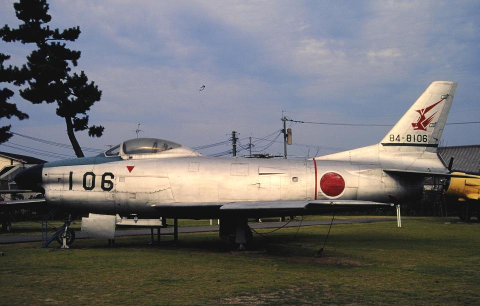 チャーリーマイクさんの航空自衛隊 North American F-86 Sabre (84-8106) 航空フォト