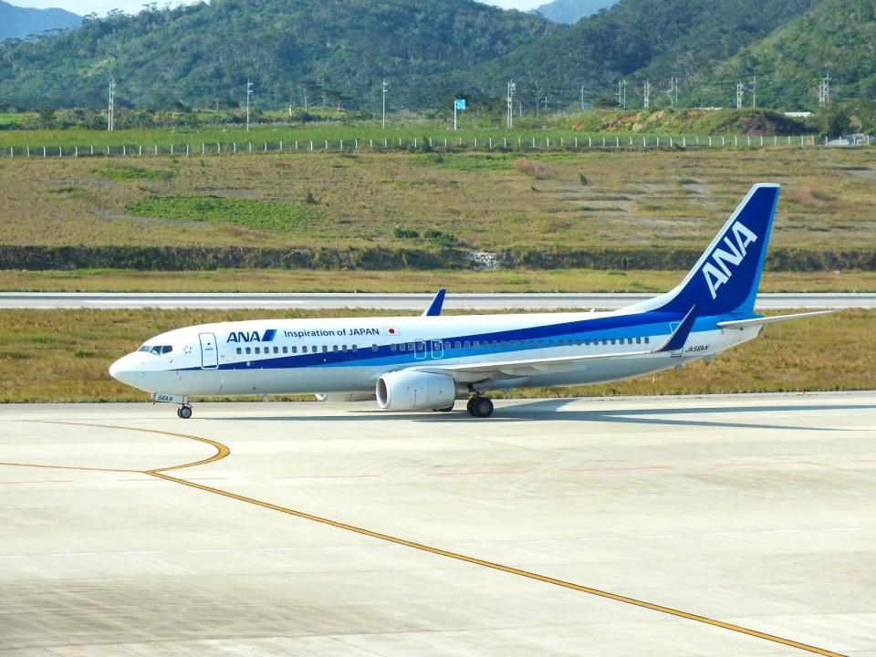 スカイマンタさんの全日空 Boeing 737-800 (JA56AN) 航空フォト