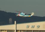 T.Sazenさんが、伊丹空港で撮影した兵庫県警察 S-76Bの航空フォト(飛行機 写真・画像)