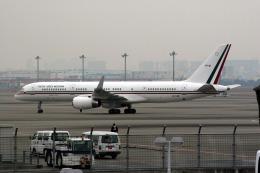 KTX8929さんが、羽田空港で撮影したメキシコ空軍 757-225の航空フォト(飛行機 写真・画像)