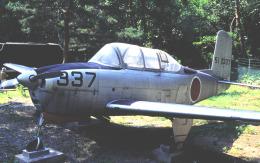 チャーリーマイクさんが、聖博物館で撮影した航空自衛隊 T-34A Mentorの航空フォト(飛行機 写真・画像)