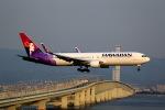 T.Sazenさんが、関西国際空港で撮影したハワイアン航空 767-3CB/ERの航空フォト(飛行機 写真・画像)