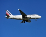 じーく。さんが、トゥールーズ・ブラニャック空港で撮影したエールフランス航空 A319-113の航空フォト(飛行機 写真・画像)