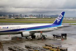 ゆたろうさんが、ダニエル・K・イノウエ国際空港で撮影した全日空 767-381/ERの航空フォト(飛行機 写真・画像)