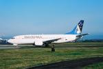 ゴンタさんが、シドニー国際空港で撮影したアンセット・オーストラリア航空 737-33Aの航空フォト(写真)