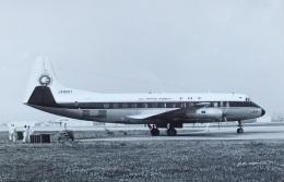TKOさんが、福岡空港で撮影した全日空 828 Viscountの航空フォト(飛行機 写真・画像)