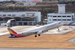 korosukeさんが、南紀白浜空港で撮影したアシアナ航空 A321-231の航空フォト(飛行機 写真・画像)