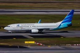 航空フォト:PK-GFC ガルーダ・インドネシア航空 737-800