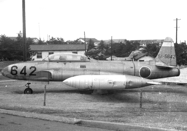 航空自衛隊 Lockheed T-33 Shoot...