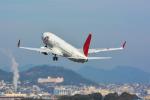 パンダさんが、伊丹空港で撮影したJALエクスプレス 737-846の航空フォト(飛行機 写真・画像)