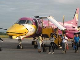 BANKOKIANさんが、メーソート空港で撮影したSGAエアラインズ 340Bの航空フォト(飛行機 写真・画像)