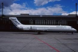 Fuseyaさんが、ベルリン・テムペルホーフ空港で撮影したボーイング 717-2BDの航空フォト(飛行機 写真・画像)