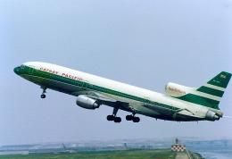 レンタくんさんが、羽田空港で撮影したキャセイパシフィック航空 L-1011 TriStarの航空フォト(飛行機 写真・画像)