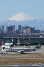 SKYLINEさんが、羽田空港で撮影したエバー航空 A330-302Xの航空フォト(飛行機 写真・画像)