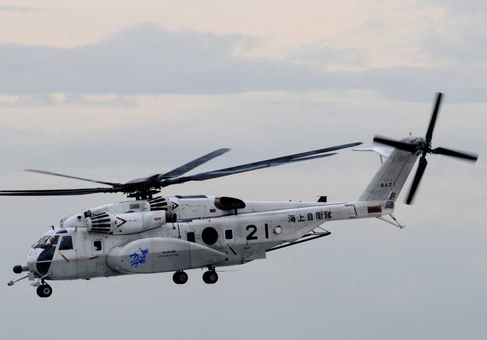 チャーリーマイクさんの海上自衛隊 Sikorsky MH-53E (8621) 航空フォト