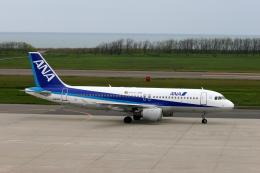 もぐ3さんが、新潟空港で撮影した全日空 A320-211の航空フォト(飛行機 写真・画像)