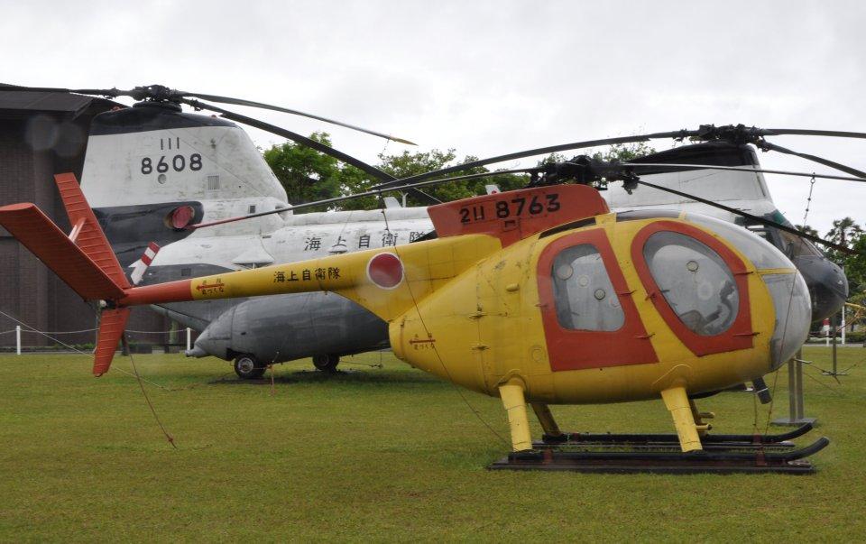 チャーリーマイクさんの海上自衛隊 Kawasaki OH-6J (8763) 航空フォト