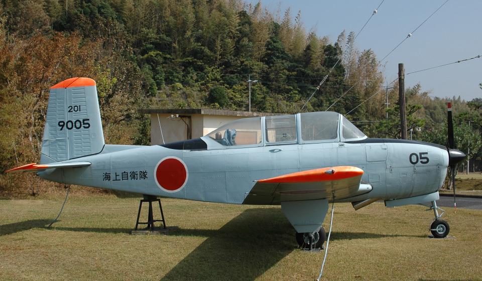 チャーリーマイクさんの海上自衛隊 Fuji T-34 (9005) 航空フォト