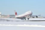 c59さんが、新千歳空港で撮影した航空自衛隊 747-47Cの航空フォト(飛行機 写真・画像)