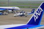 ふじいあきらさんが、羽田空港で撮影したANAウイングス DHC-8-314Q Dash 8の航空フォト(飛行機 写真・画像)