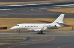 パンダさんが、成田国際空港で撮影したMacau Jet International Falcon 2000EXの航空フォト(写真)