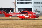 Chofu Spotter Ariaさんが、東京ヘリポートで撮影した東京消防庁航空隊 AS332L1 Super Pumaの航空フォト(写真)