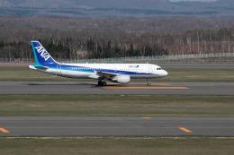 夏奈さんが、新千歳空港で撮影した全日空 A320-214の航空フォト(飛行機 写真・画像)