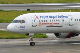 speedbirdさんが、関西国際空港で撮影したロイヤル・ネパール航空 757-2F8Cの航空フォト(飛行機 写真・画像)