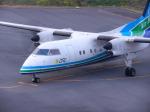 スーパードルフィンさんが、五島福江空港で撮影したオリエンタルエアブリッジ DHC-8-201Q Dash 8の航空フォト(飛行機 写真・画像)