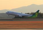 ふじいあきらさんが、広島空港で撮影した春秋航空日本 737-86Nの航空フォト(写真)