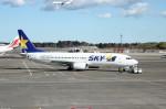 アイスコーヒーさんが、成田国際空港で撮影したスカイマーク 737-8HXの航空フォト(飛行機 写真・画像)