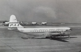 TKOさんが、羽田空港で撮影したパンアメリカン航空 377 Stratocruiserの航空フォト(飛行機 写真・画像)