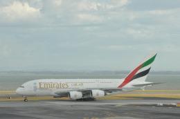 snow_shinさんが、オークランド空港で撮影したエミレーツ航空 A380-861の航空フォト(写真)