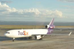 snow_shinさんが、オークランド空港で撮影したフェデックス・エクスプレス MD-11Fの航空フォト(写真)