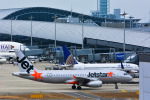 パンダさんが、関西国際空港で撮影したジェットスター・アジア A320-232の航空フォト(飛行機 写真・画像)