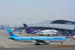 パンダさんが、関西国際空港で撮影した大韓航空 A330-323Xの航空フォト(飛行機 写真・画像)
