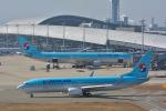 パンダさんが、関西国際空港で撮影した大韓航空 737-8Q8の航空フォト(飛行機 写真・画像)