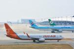 パンダさんが、関西国際空港で撮影したチェジュ航空 737-8BKの航空フォト(飛行機 写真・画像)