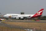NIKEさんが、シドニー国際空港で撮影したカンタス航空 747-438の航空フォト(写真)