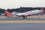 ANA744Foreverさんが、成田国際空港で撮影したエア・インディア 747-437の航空フォト(写真)