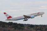 ANA744Foreverさんが、成田国際空港で撮影したオーストリア航空 777-2B8/ERの航空フォト(写真)