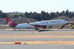 ANA744Foreverさんが、成田国際空港で撮影したヴァージン・アトランティック航空 A340-313Xの航空フォト(写真)