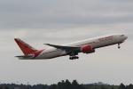 ANA744Foreverさんが、成田国際空港で撮影したエア・インディア 777-237/LRの航空フォト(写真)
