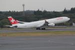 ANA744Foreverさんが、成田国際空港で撮影したスイスインターナショナルエアラインズ A340-313Xの航空フォト(写真)