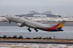 Koenig117さんが、羽田空港で撮影したアシアナ航空 A330-323Xの航空フォト(写真)